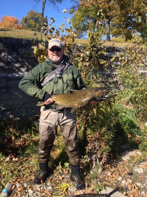 Milwaukee river wi fishing reports map hot spots for Milwaukee river fishing report