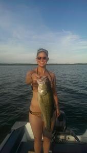 largemouth bass caught by Tim Jager