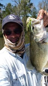 Bass caught by john chandler