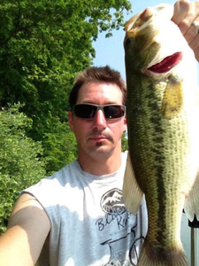 Largemouth caught by Kevin Miller
