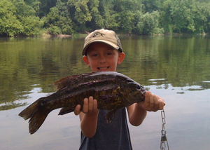 Smallmouth caught by Kevin Miller