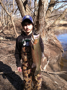 Rainbow Trout caught by Brandyn Curtis