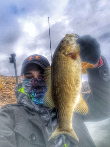 Smallmouth Bass caught by Byron Pate