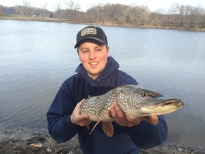 Northern Pike caught by Noah Humfeld