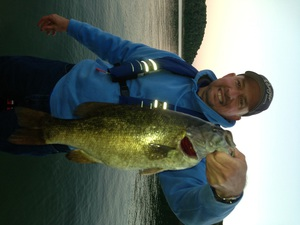 Smallmouth Bass caught by Victor Black