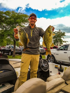 Smallmouth bass caught by Justin Engleman