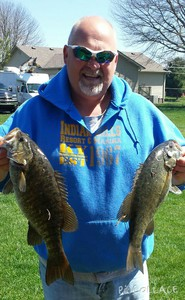 smallmouth caught by Tim Roy