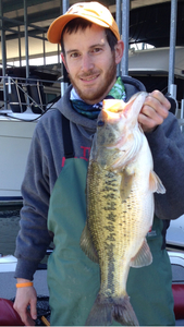 Large Mouth caught by Tyler Smith