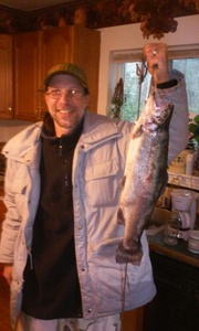 trout caught by matt grgich
