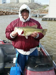 Bass caught by Garry Brum