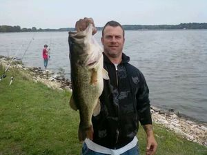 largemouth caught by Frankie Cleaver