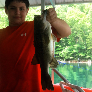 Largemouth caught by Tyler Crisp