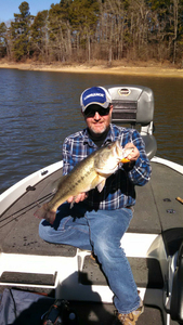 Bass caught by Jared Lammers