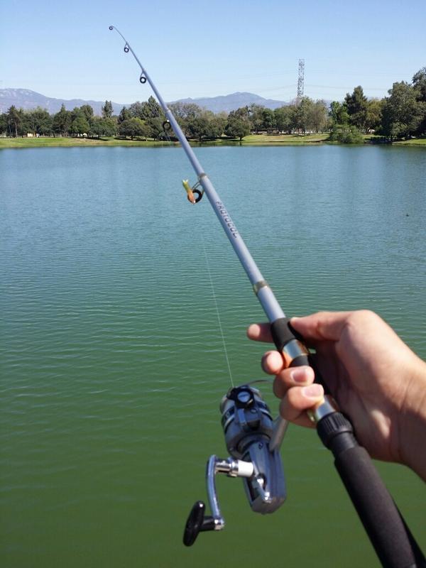 Legg lake ca fishing reports map hot spots for Santa fe dam fishing