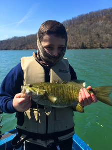 Smallmouth caught by Shaun Ellis
