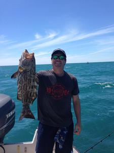 Black Grouper caught by Rich Pardy