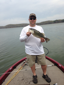 Largemouth caught by Andrew Kelley