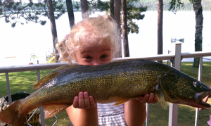 Walleye caught by Rob Rumbel