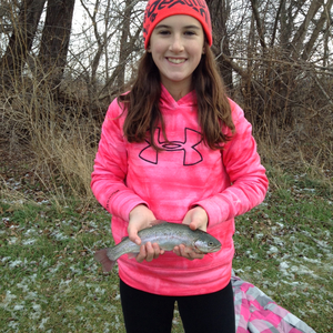 Rainbow Trout caught by Emily Ilich