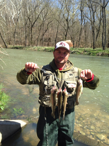 Rainbow Trout caught by Donnie Murphy