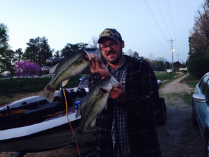 Largemouths caught by Jeremy Shatswell