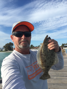 Flounder caught by Jeff Link