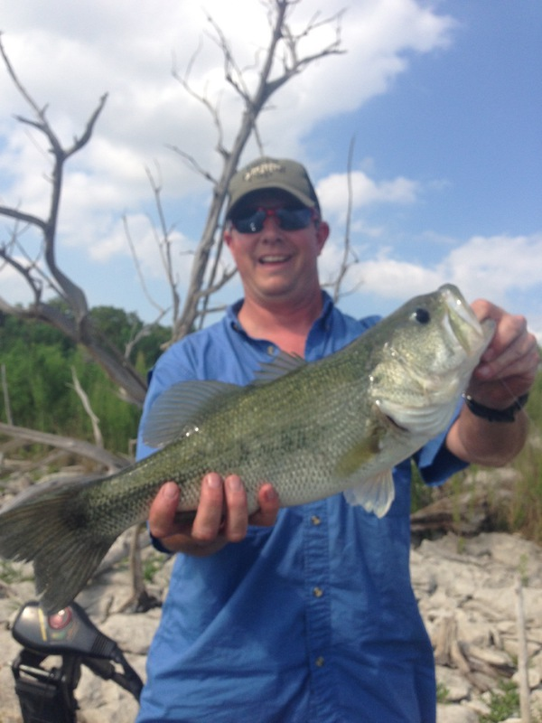 Canyon lake tx fishing reports map hot spots for Fishing spots in texas