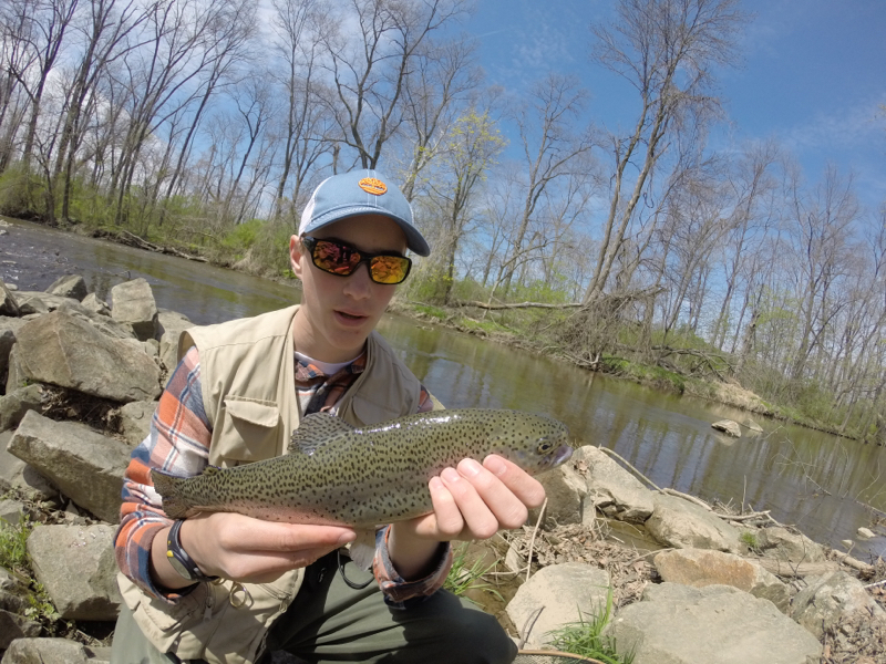 East branch brandywine creek pa fishing reports map hot for Blue creek fishing report