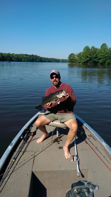 Cane creek park nc fishing reports map hot spots for Fishing spots in nc