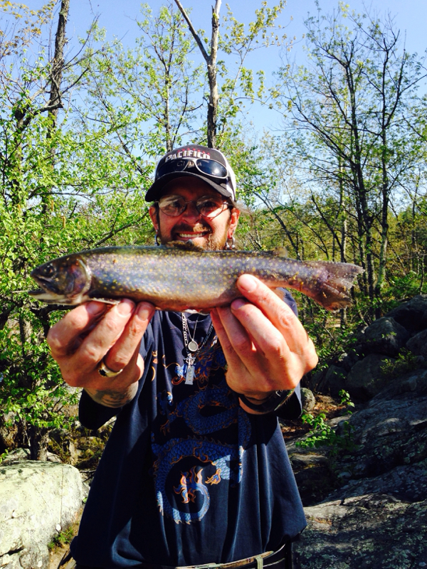 Saco river me fishing reports map hot spots for Trout fishing spots near me