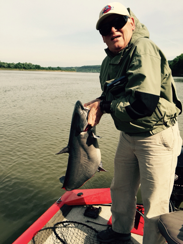 Ohio river smithland ky fishing reports map hot spots for Ohio river fishing report