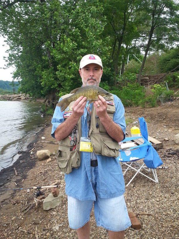 Ohio river emsworth l d pa fishing reports map hot spots for Ohio river fishing report