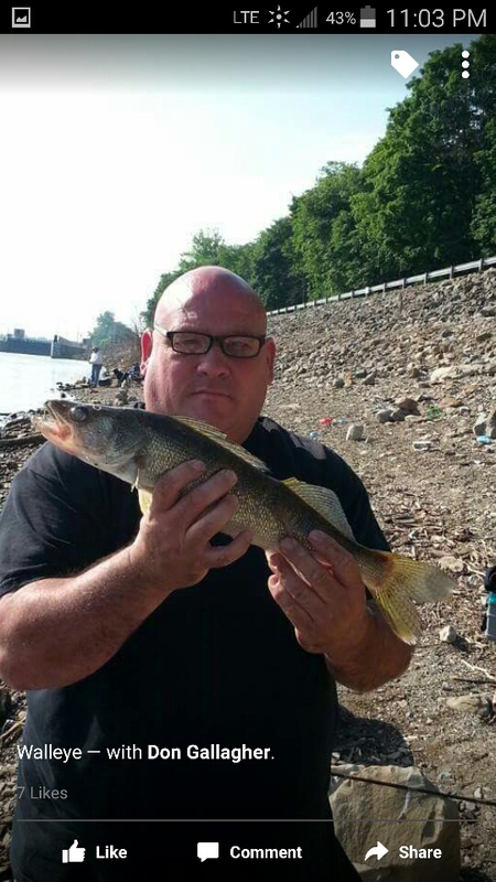 Ohio river dashields l d pa fishing reports map hot spots for Ohio river fishing report
