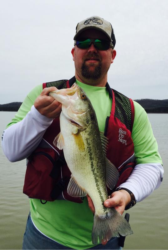 Table rock lake mo fishing reports map hot spots for Stockton lake mo fishing report