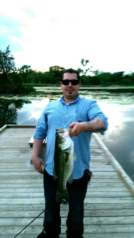 Grandmother flowage wi fishing reports map hot spots for Wisconsin river fishing report