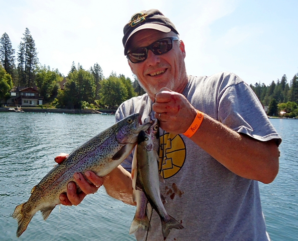 Williams lake wa fishing reports map hot spots for Lake mcclure fishing report