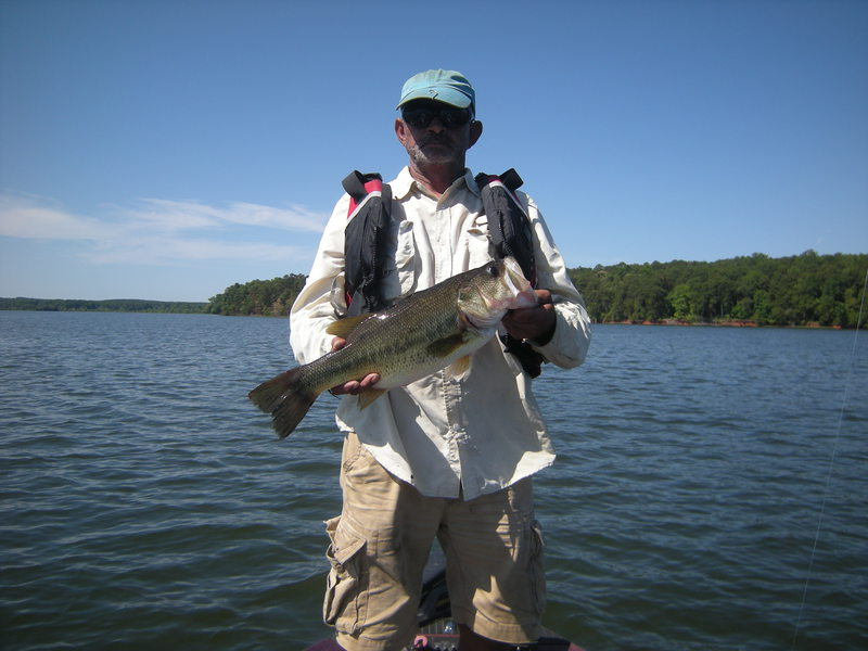 Badin lake nc fishing reports map hot spots for Fishing spots in nc