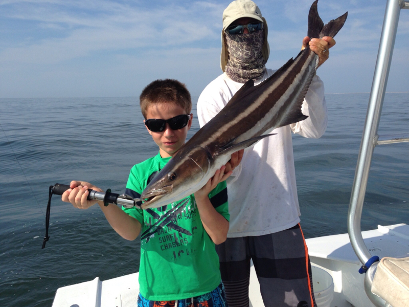 Oregon inlet nc fishing reports map hot spots for Fishing spots in nc
