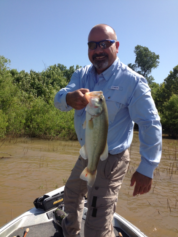 Draper lake ok fishing reports map hot spots for Oklahoma lake fishing reports