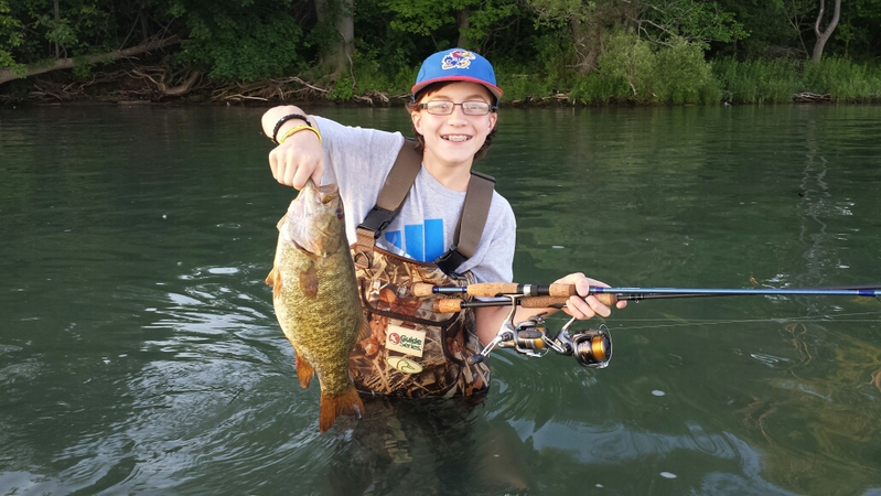 Schroon river ny fishing reports map hot spots for Fishing report ny