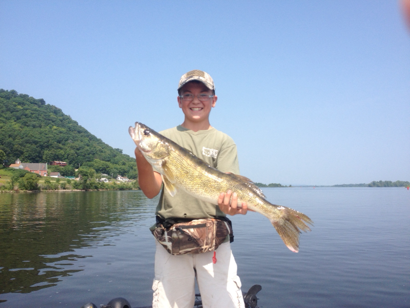 Mississippi river pool 6 wi fishing reports map hot spots for Pool 4 mississippi river fishing report
