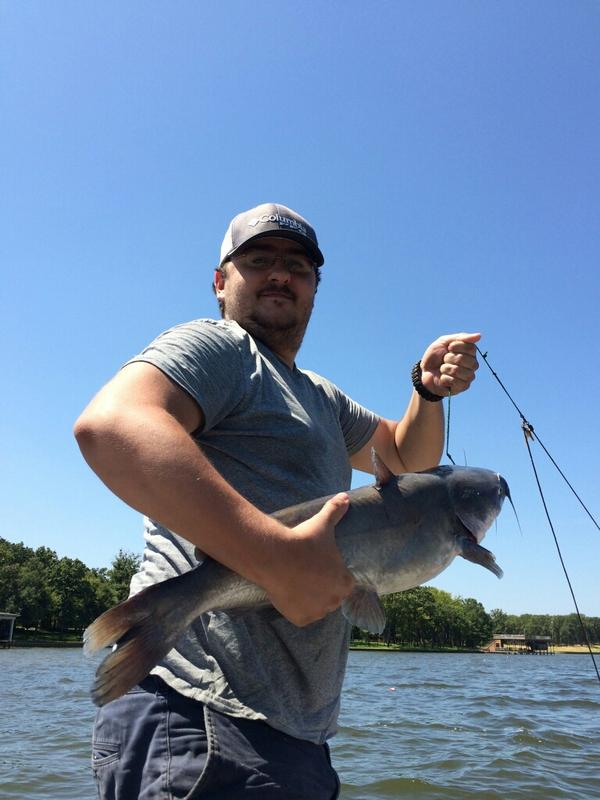 Cedar creek lake tx fishing reports map hot spots for Cedar creek lake fishing