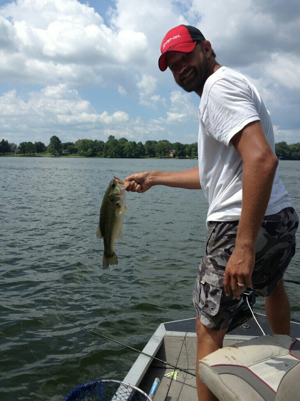 Marked a spot on old hickory lake for Old hickory lake fishing