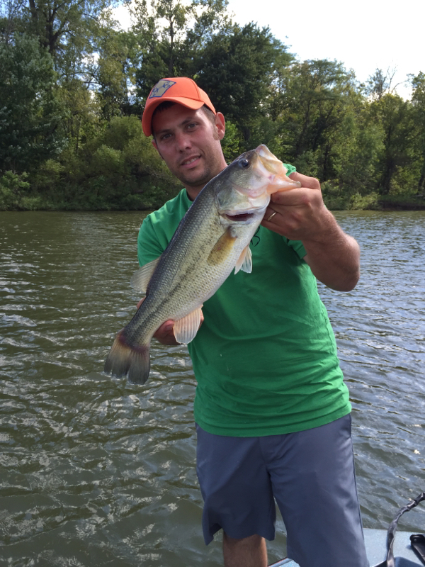 Delaware lake oh fishing reports map hot spots for Bass fishing in ohio