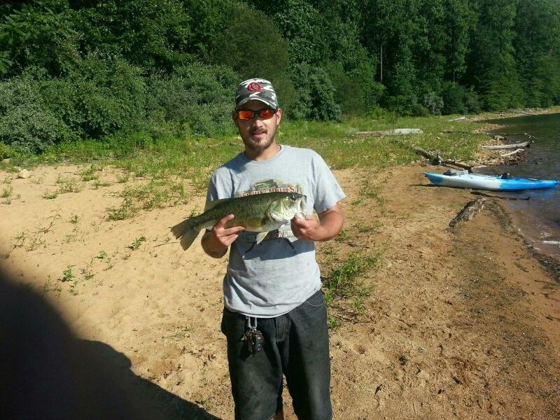 Merrill creek reservoir nj fishing reports map hot spots for Best fishing spots in nj