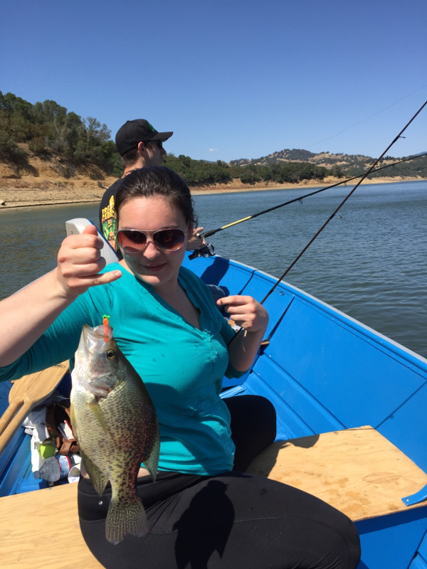 Mendocino lake ca fishing reports map hot spots for Mobile alabama fishing report