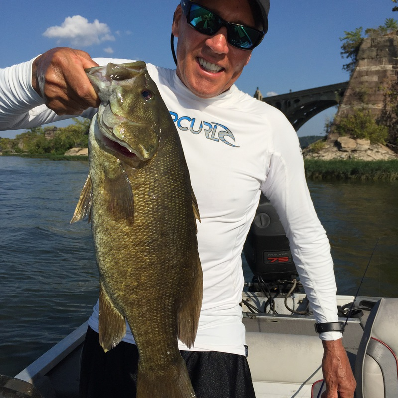 Caught A Smallmouth On Susquehanna River Columbia Using
