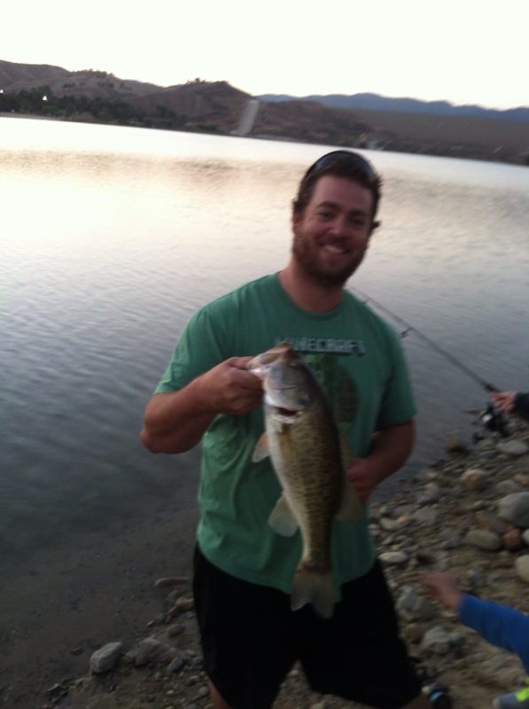 Castaic lagoon ca fishing reports map hot spots for Castaic fishing report
