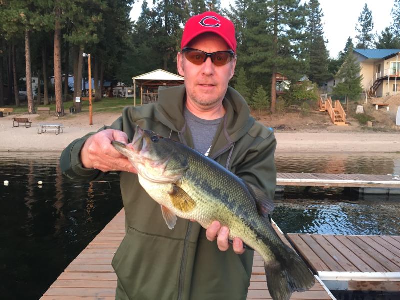 Deer lake wa fishing reports map hot spots for Bass fishing washington