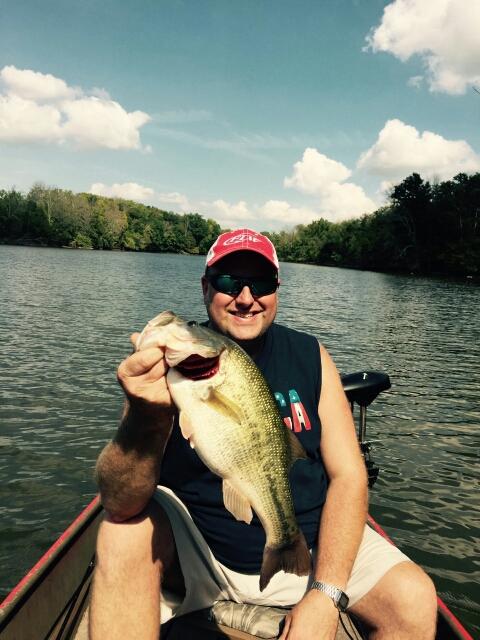 Guist creek lake ky fishing reports map hot spots for Lay lake fishing report